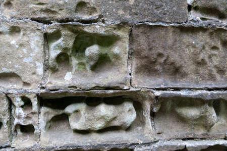Erosion of a Limestone Building