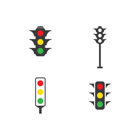Illustration for Traffic lights icon vector design - Royalty Free Image