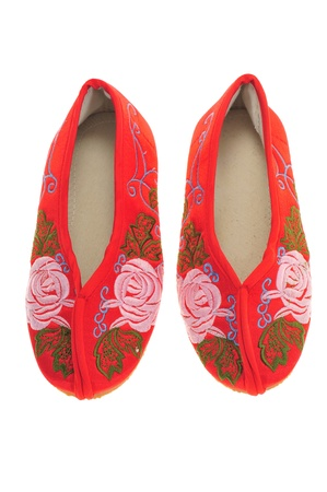 Chinese Embroidery Children Shoes