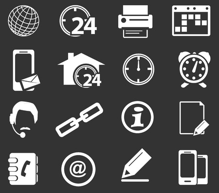 Community simply icons for web and user interfaces