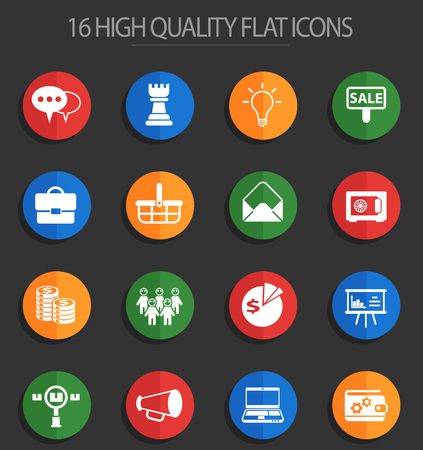marketing vector icons for web and user interface design