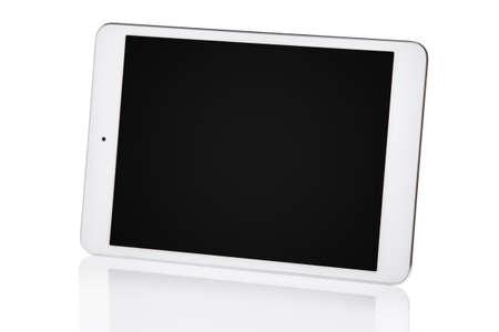 Photo pour White tablet pc isolated - image libre de droit
