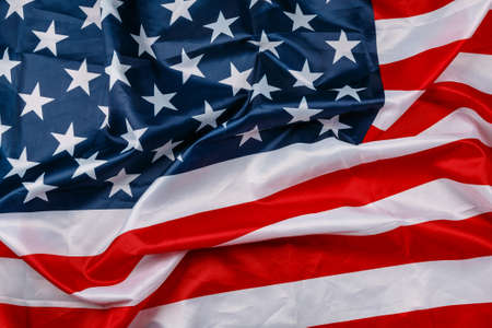 Photo for Background of american flag - Royalty Free Image