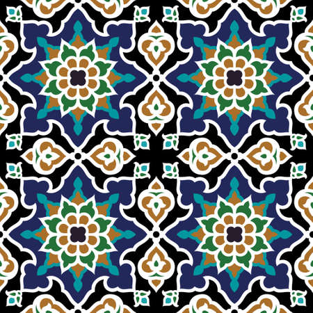 Ilustración de Iran Seamless Pattern - Imagen libre de derechos