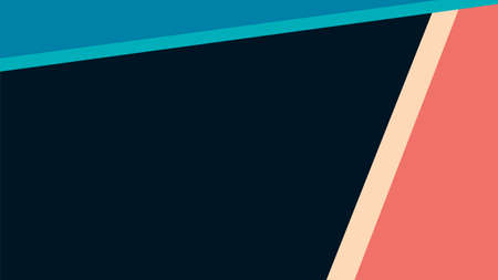 Illustration for vector illustration of an abstract red and blue with striped background - Royalty Free Image