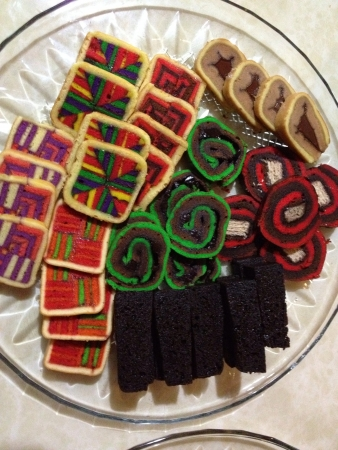 layer cake traditionally served in Sarawak Malaysia on special occasions.