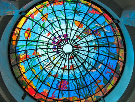 Stained-glass dome