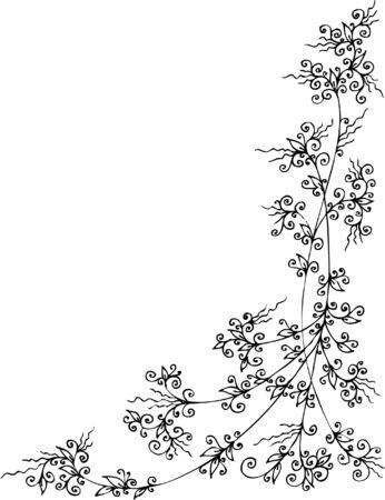 Floral vignette. Eau-forte 287.