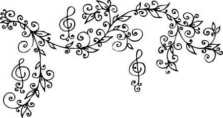 Musical vignette. Eau-forte 301.