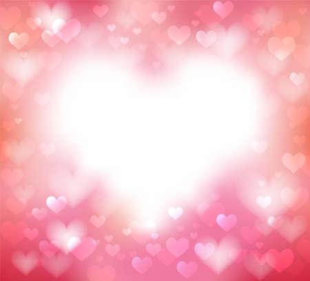 Illustration for Pink gentle frame - Royalty Free Image