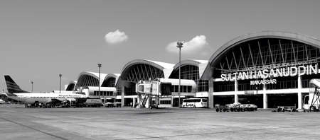 New Airport in Makasar Indonesia with modern Architecture