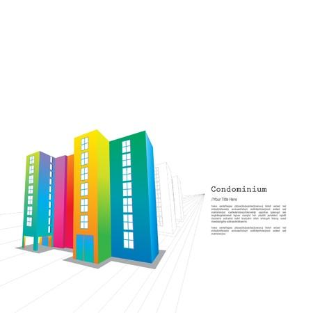 Colourful Condominium