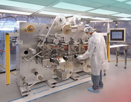 Manufacturing in clean room