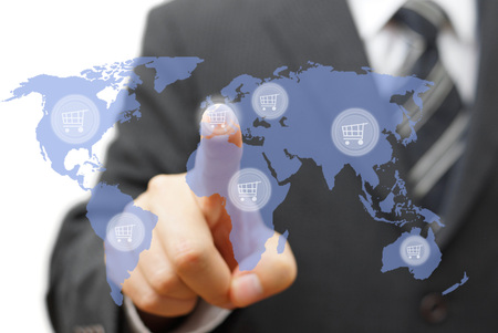 shopping around the world or sell products globally
