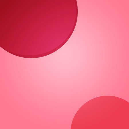 Pink Square Social Media Banner Background