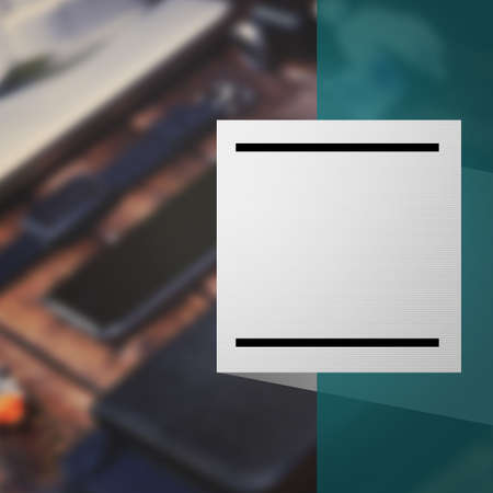 Blank Square Social Media Banner Background