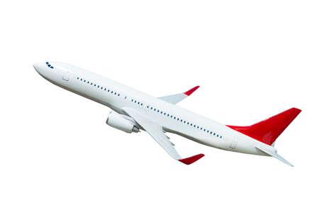 Foto de Plane isolated on white background. airplane model - Imagen libre de derechos