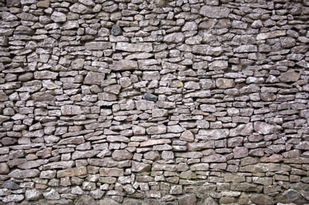 Large dry stone wall
