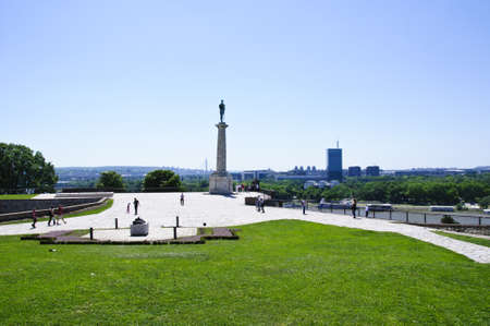 View of New Belgrade from the Kalemegdan castle