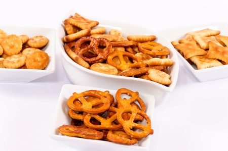 Variation of the salted snacks