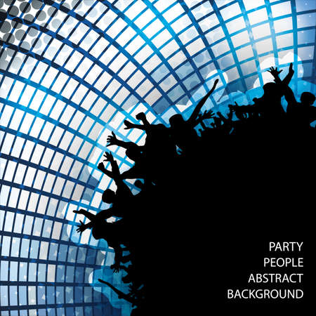 Party People Abstract Background