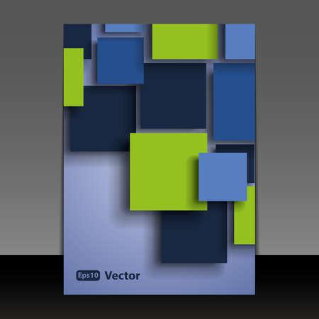Illustration pour Flyer or Cover Design - image libre de droit