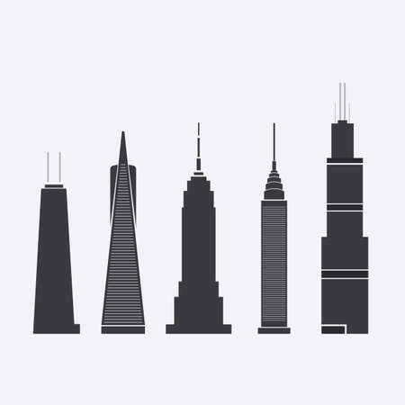 Skyscraper Icons