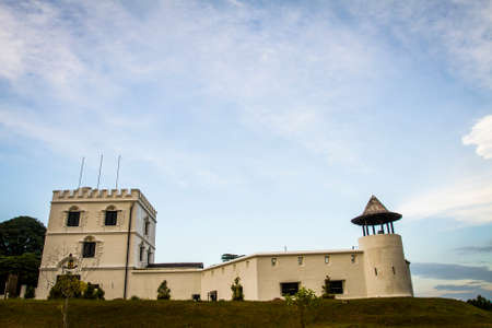 Fort Margherita, which was built in 1879 by the colonial British Empire, in Kuching, Malaysia.