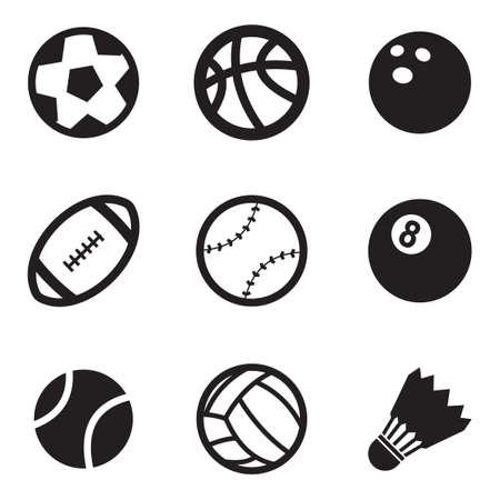 Ilustración de Ball Icons - Imagen libre de derechos