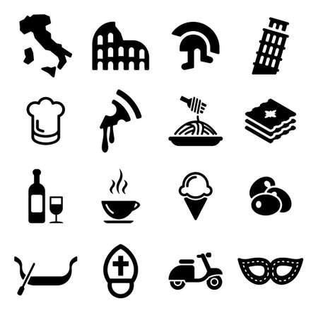 Italy Icons