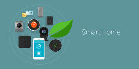 Smart Home Internet of Things objects