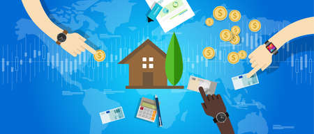 property housing house market investment price value vector