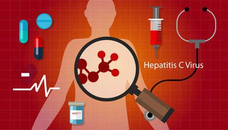 hcv hepatitis c virus liver disease vector