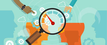 business benchmarking benchmark measure company performance vector