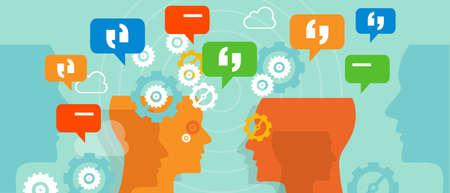 complaints customer speak conversation bubble vetor talk duscussion