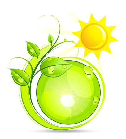 Solar green composition