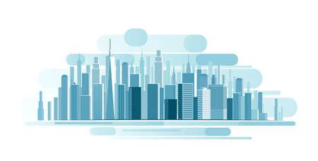 Illustration pour Urban Landscape background. abstract illustration - image libre de droit