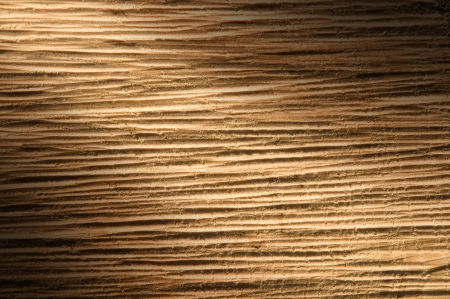 Texture of Rough-Cut Timber Wood Lit Diagonally
