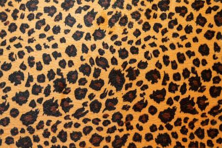 Wild African animal hide pattern brown jaguar