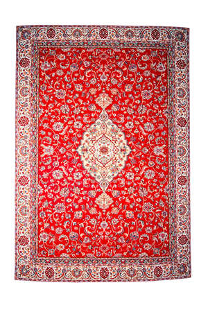 Traditional red Persian isolated