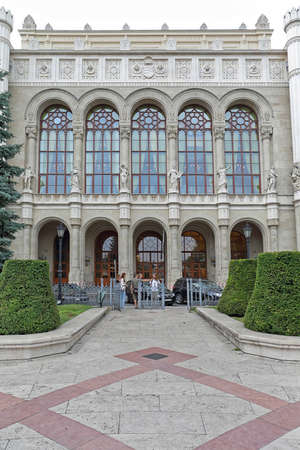 Photo pour Budapest, Hungary - July 13, 2015: Vigado Concert Hall Buildng in Budapest, Hungary. - image libre de droit