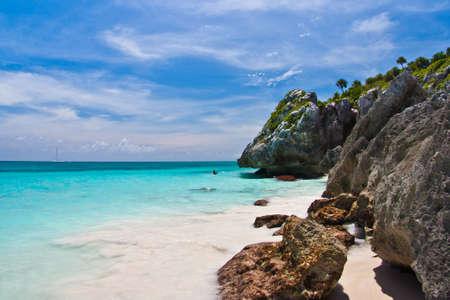 Beach in Tulum - Mexico