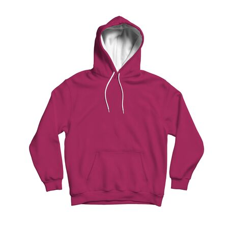 Photo pour Use this blank Cute Hoodie Mock Up In Dark Sangria Color to make your design becomes more luxurious - image libre de droit