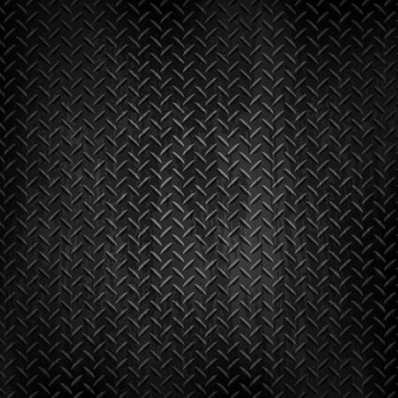 Illustration for Dark metal background.Vector illustration - Royalty Free Image