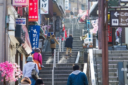 Ikaho Onsen is a hot spring town located on the eastern slopes of Mount Haruna.