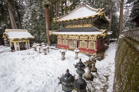 Nikko, Japan - UNESCO World Heritage Site. Part of Tosho-gu Shinto shrine