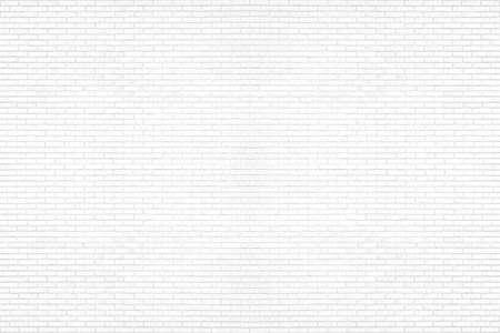 Photo pour Modern white brick wall texture background for wallpaper and graphic web design. - image libre de droit