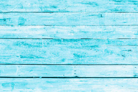 Foto per Bright light blue color wood plank texture. Vintage beach wooden background. - Immagine Royalty Free