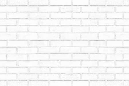 Photo for Old grunge white brick wall texture for background - Royalty Free Image