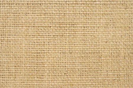 Textured Natural Tan Linen Fabric Background
